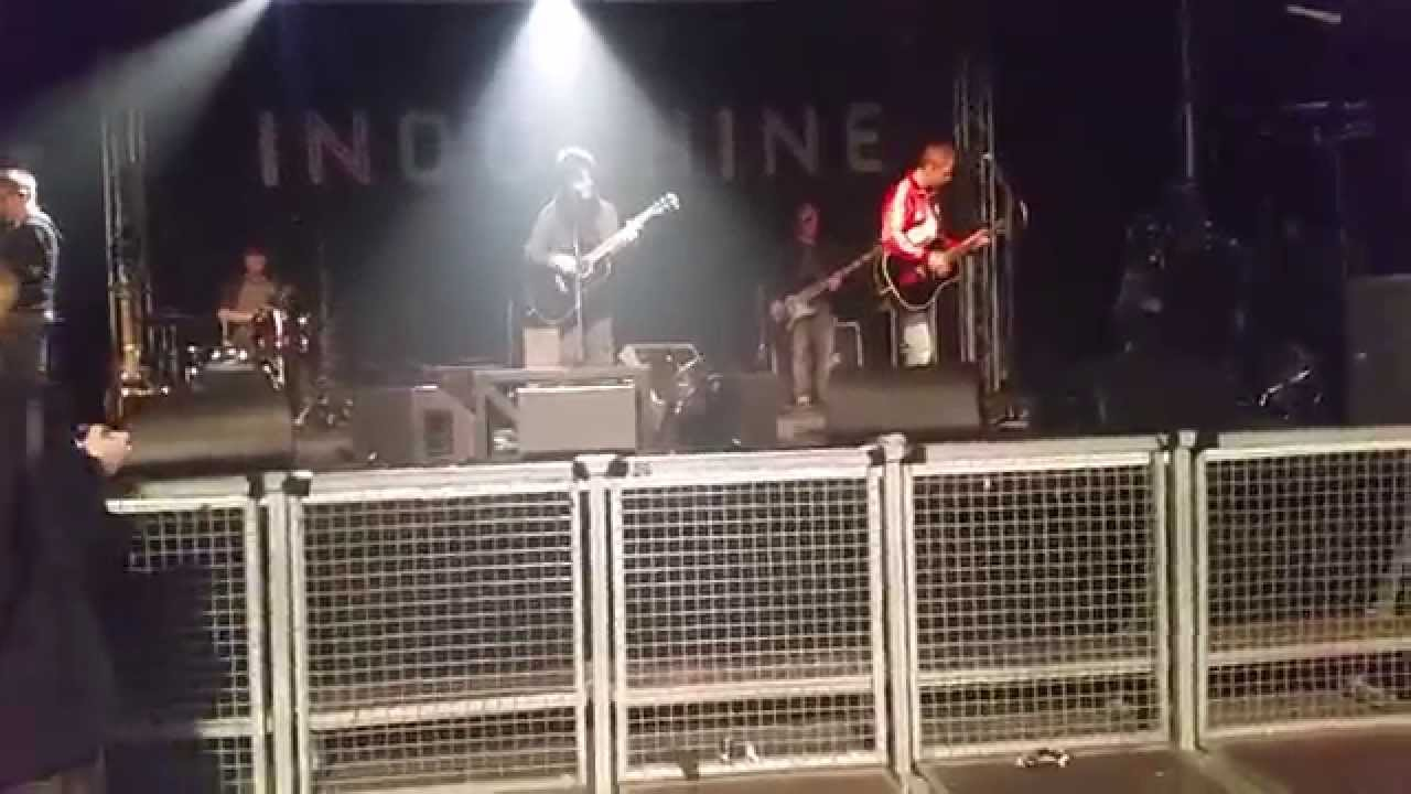 Indochine - Berlin 08.04.2015 Soundcheck Kao Bang